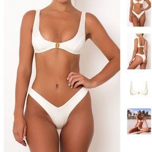 Sommer Swim Swim - Sommer Swim Bikini Hosk bottom & Crawford top M L